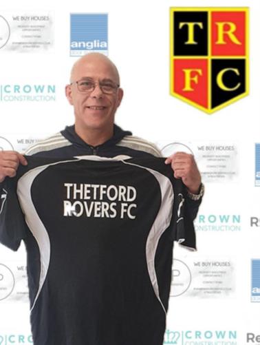 Thetford Town Rovers FC coach